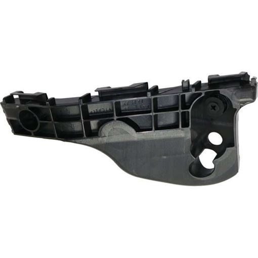 Toyota Front, Passenger Side, Outer Bumper Retainer-Black, Plastic, Replacement RT01490005
