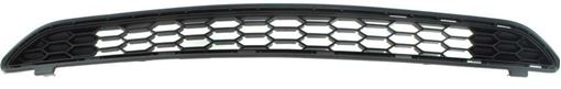 Toyota Upper Bumper Grille-Textured Gray, Plastic, Replacement RT01530004