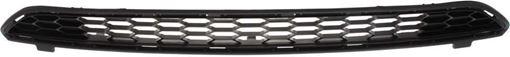 Toyota Upper Bumper Grille-Textured Dark Gray, Plastic, Replacement RT01530004Q