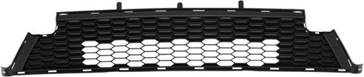 Bumper Grille, Rav4 16-17 Front Bumper Grille, Lower, Textured Dark Gray, Se Model, To 10-16, Replacement RT01530005