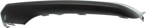Toyota Front, Passenger Side Bumper Trim-Textured, Plastic, Replacement RT01610007