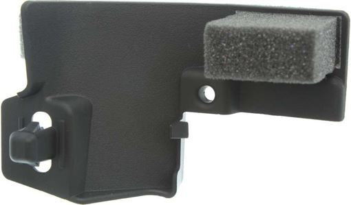 Toyota Front, Driver Side Bumper Filler-Black, Replacement RT04050002