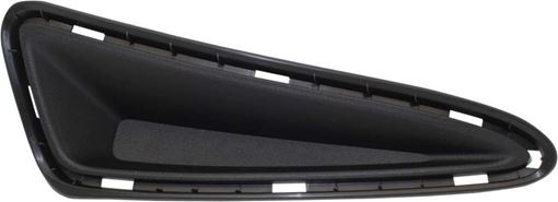 Toyota Front, Passenger Side Bumper Filler-Textured Black, Replacement RT04050005