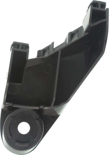 Toyota Rear, Driver Side, Upper Bumper Retainer-Primed, Plastic, Replacement RT76330002