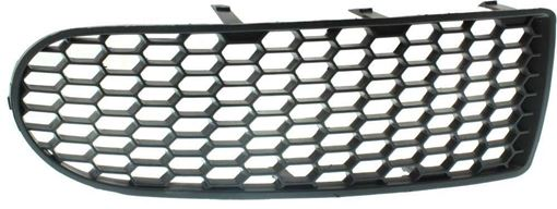 Bumper Grille, Beetle 06-10 Front Bumper Grille Lh, Outer, W/O Fl Holes, Replacement RV01550004
