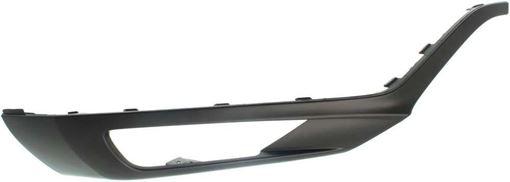 Volvo Front, Passenger Side Bumper Trim-Black, Plastic, Replacement RV01610003