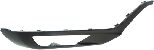 Volvo Front, Passenger Side Bumper Trim-Primed, Plastic, Replacement RV01610005