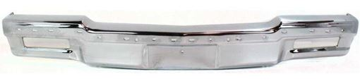 Front Bumper Replacement Series-Chrome, Steel, Replacement 6241