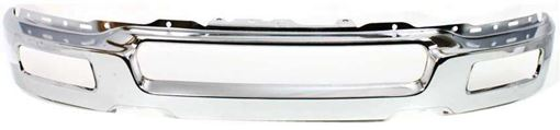 Front, Lower Bumper Replacement Bumper-Chrome, Steel, Replacement F010902