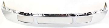 Bumper, F-450 Super Duty/F-550 Super Duty 05-07 Front Bumper, Chrome, W/ Fender Flare, Replacement F010908