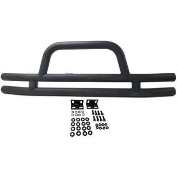 Picture of N-Dure Front Bumper N-Dure Bumper-Textured Black, Steel | N-Dure REPJ542409