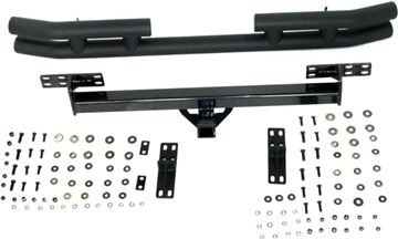 Picture of N-Dure Bumper, Vndr # 6-85921|Jeep Products||Rear Tub Bmpr W/Recvr Htc|Textured Black | N-Dure REPJ542416