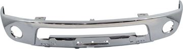 Replacement Front, Lower Bumper Replacement Bumper-Chrome, Steel | Replacement REPN010903