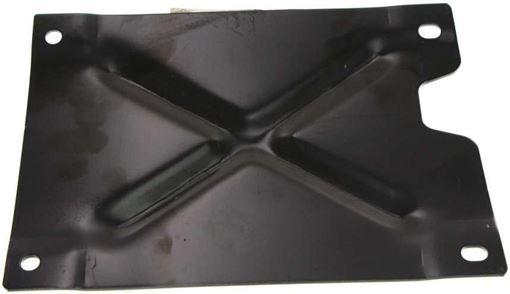 Front, Passenger Side Bumper Bracket-Steel, Replacement F013107