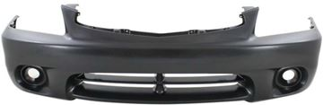Picture of Replacement Bumper Cover, Accent 00-02 Front Bumper Cover, Primed, W/O Fog Light Holes, Hatchback   Replacement H010330