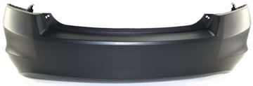 Picture of Replacement Bumper Cover, Accord 08-12 Rear Bumper Cover, Primed, W/ Single Exhaust Hole, 4 Cyl, Sedan   Replacement H760154P