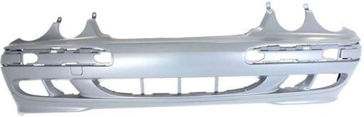 Front Bumper Cover For 2000-2002 Mercedes Benz E320 Sedan//Wagon w// HLW Holes