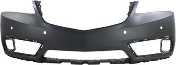 Acura Front Bumper Cover-Primed, Plastic, Replacement REPA010349P