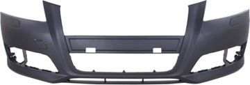 Audi Front Bumper Cover-Primed, Plastic, Replacement REPA010360P