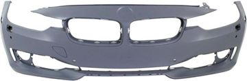 Picture of Replacement Bumper Cover, 3-Series 12-15 Front Bumper Cover, Prmd, W/O M Sport Line, W/ Hlw/Pdc Holes/Ipas/Cam, Modern/Luxury/Sport Line Mdls, Sdn/Wgn   Replacement REPB010359P
