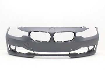 Picture of Replacement Bumper Cover, 3-Series 12-15 Front Bumper Cover, Prmd, W/O M Sport Line, W/O Hlw Holes, W/ Pdc Holes/Ipas/Cam, Modern/Luxury/Sport Line Mdls, Sdn/Wgn   Replacement REPB010360P