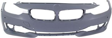 Picture of Replacement Bumper Cover, 3-Series 12-15 Front Bumper Cover, Prmd, W/O M Sport Line, W/O Hlw Holes/Ipas, W/ Pdc Holes/Cam, Modern/Luxury/Sport Line Mdls, Sdn/Wgn   Replacement REPB010361P