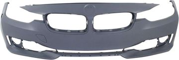 Picture of Replacement Bumper Cover, 3-Series 12-15 Front Bumper Cover, Prmd, W/O M Sport Line, W/O Hlw/Pdc Holes/Ipas/Cam, Modern/Luxury/Sport Line Mdls, Sdn/Wgn   Replacement REPB010364P