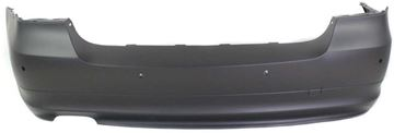 Picture of Replacement Bumper Cover, 3-Series 09-11 Rear Bumper Cover, Primed, 2.5/3.0L Eng, W/ Pdc Snsr Holes, Sedan | Replacement REPB760124P