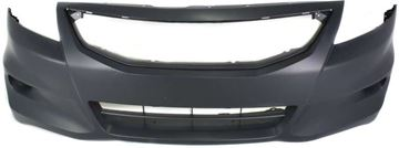 Picture of Replacement Bumper Cover, Accord 11-12 Front Bumper Cover, Primed, W/ Fog Light Holes, Coupe   Replacement REPH010320P
