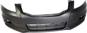 Picture of Replacement Bumper Cover, Accord 11-12 Front Bumper Cover, Primed, 6 Cyl, Sedan   Replacement REPH010322P
