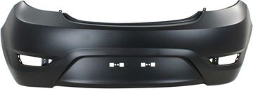 Picture of Replacement Bumper Cover, Accent 12-17 Rear Bumper Cover, Primed, Hatchback - Capa   Replacement REPH760169PQ