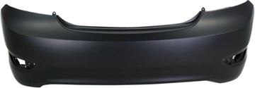 Picture of Replacement Bumper Cover, Accent 12-17 Rear Bumper Cover, Primed, Sedan   Replacement REPH760171P