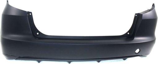 Rear Bumper Cover For 2009-2014 Honda Fit Primed