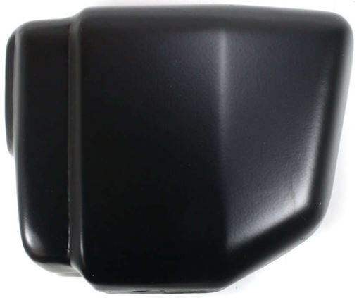 Bumper End, Hardbody 86-92 Front Bumper End Lh, Black, W/O Pad Holes, Replacement 759-2