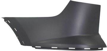 Buick Rear, Driver Side Bumper End-Primed, Plastic, Replacement REPB761104P