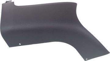 BMW Rear, Driver Side Bumper End-Textured, Plastic, Replacement REPB761106P
