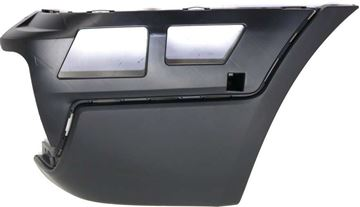 BMW Rear, Passenger Side Bumper End End-Textured, Plastic, Replacement REPB761107