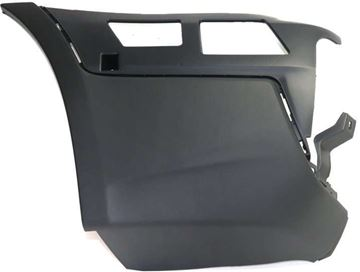BMW Rear, Driver Side Bumper End-Textured, Plastic, Replacement REPB761108