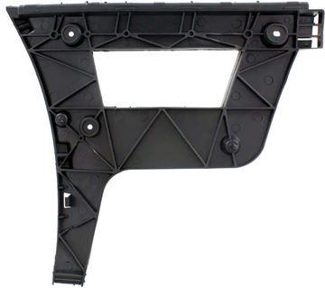 Audi Rear, Driver Side Bumper Retainer-Black, Plastic, Replacement REPA767304