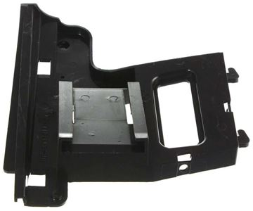 BMW Front, Driver Side Bumper Retainer-Black, Plastic, Replacement B016106