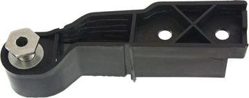Audi Front, Passenger Side Bumper Retainer-Black, Plastic, Replacement REPA014901
