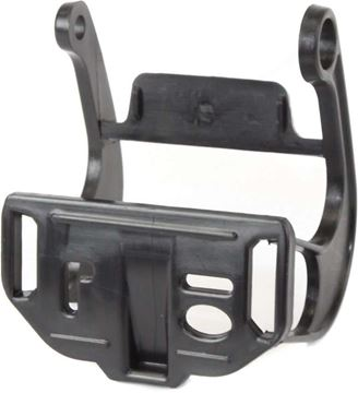 BMW Front, Driver Side Bumper Retainer-Black, Plastic, Replacement REPB012702