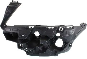 BMW Front, Driver Side Bumper Retainer-Black, Plastic, Replacement REPB019104