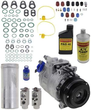 AC Compressor, 5-Series 98-03 A/C Compressor Kit, 6Cyl, From 3/98 | Replacement REPB191131