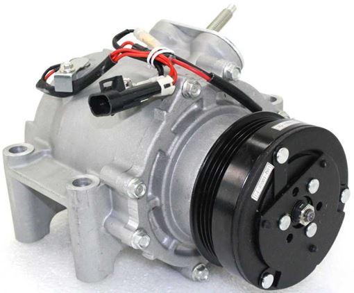 Ac Compressor Trailblazer 03 07 A C Compressor V8 4 Groove