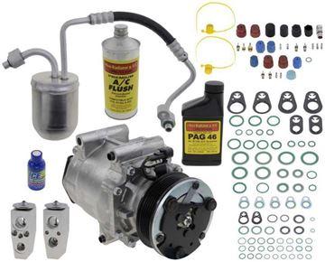 Replacement AC Compressor, Equinox 2005 A/C Compressor Kit, 3.4L, 2Nd Design Txv | Replacement REPCV191134