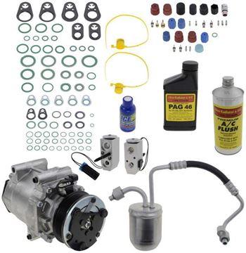 Replacement AC Compressor, Equinox 2005 A/C Copmressor Kit, 3.5L | Replacement REPCV191145