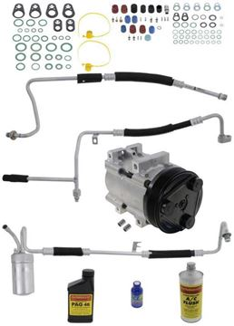 Replacement AC Compressor, Taurus 00-00 A/C Compressor Kit, 3.0L Eng | Replacement REPF191170
