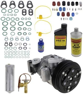 Replacement AC Compressor, Passport 1999 A/C Compressor Kit, From 12/98 | Replacement REPH191138
