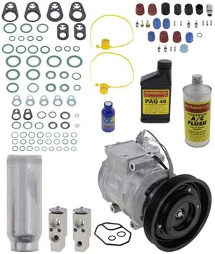 AC Compressor, 4Runner 91-93 / Camry 92-93 A/C Compressor Kit, V6, 5-Groove Pulley | Replacement REPT191131